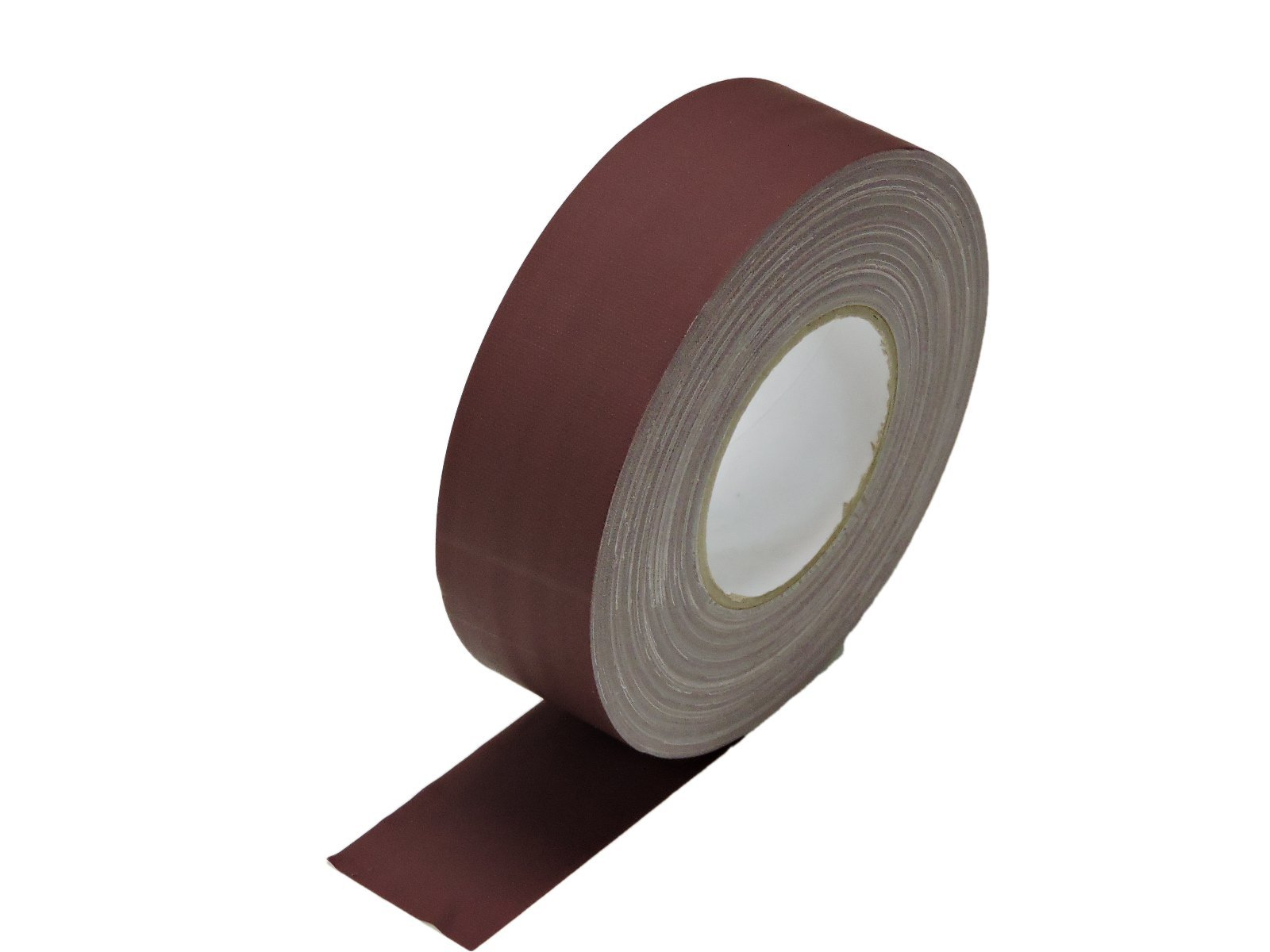 2'' x 60 yd Burgundy Maroon Gaffers Tape HEAVY 12.8 Mil Smooth Matte Finish PRO Floor Stage Gaff Tape Audio Video Theater Cloth Reinforced Rubber Adhesive Removable High Traffic No Residue 48MM X 55M