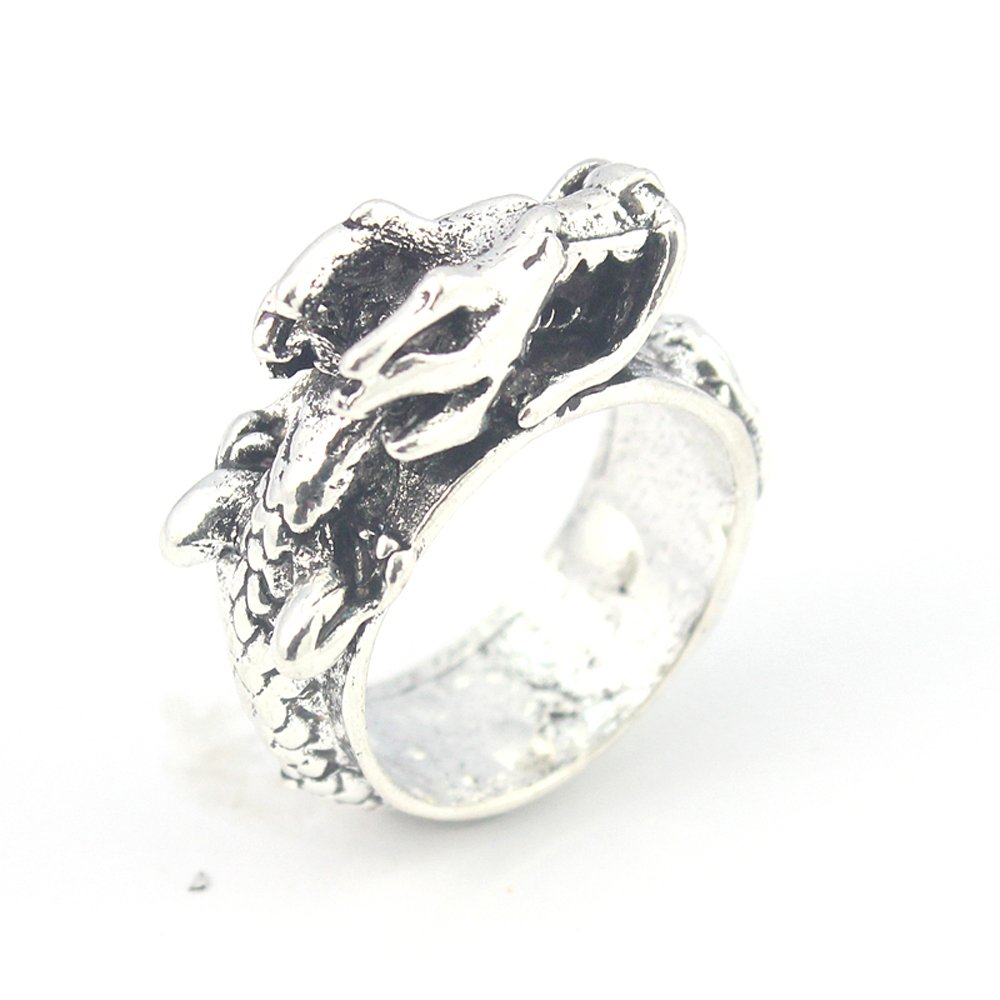 DESIGNER PLAIN FASHION JEWELRY .925 SILVER PLATED RING 10.5 S23368