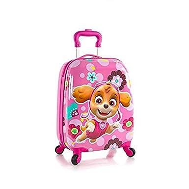 5ea65b265f02 Heys Nickelodeon PAW Patrol Hardside Spinner Luggage for Kids - 18 Inch    Pink