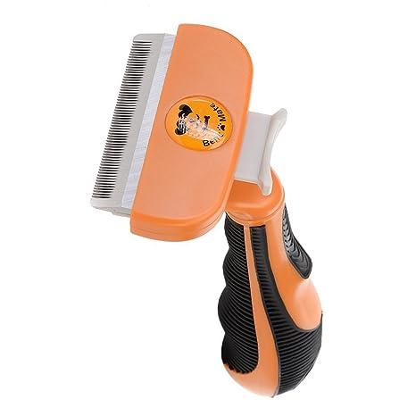 Peine Cepillo para Mascotas, Perros y Gatos Medianos Grandes