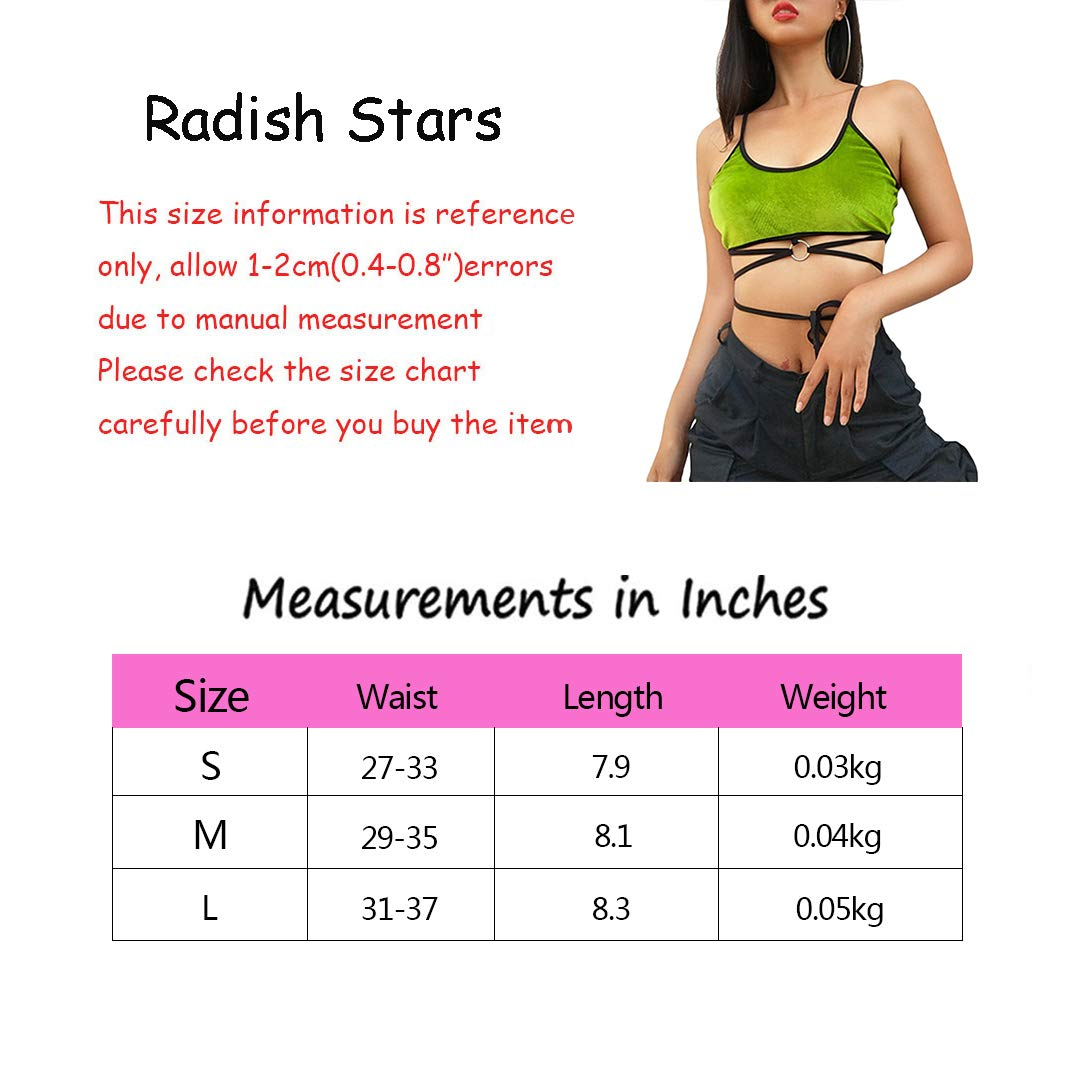Radish Stars Casual Tube Top Regular and Plus Size Halter Vest Tanks and Camis
