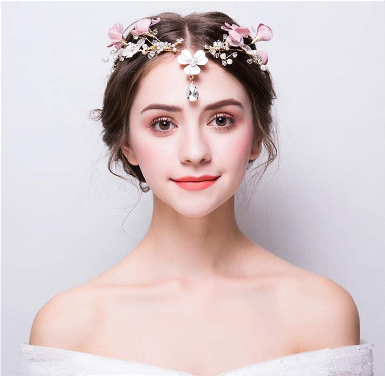 Star Crown Headdress Delicate Shinning Rhinestone Bridal Headband Wedding Dress