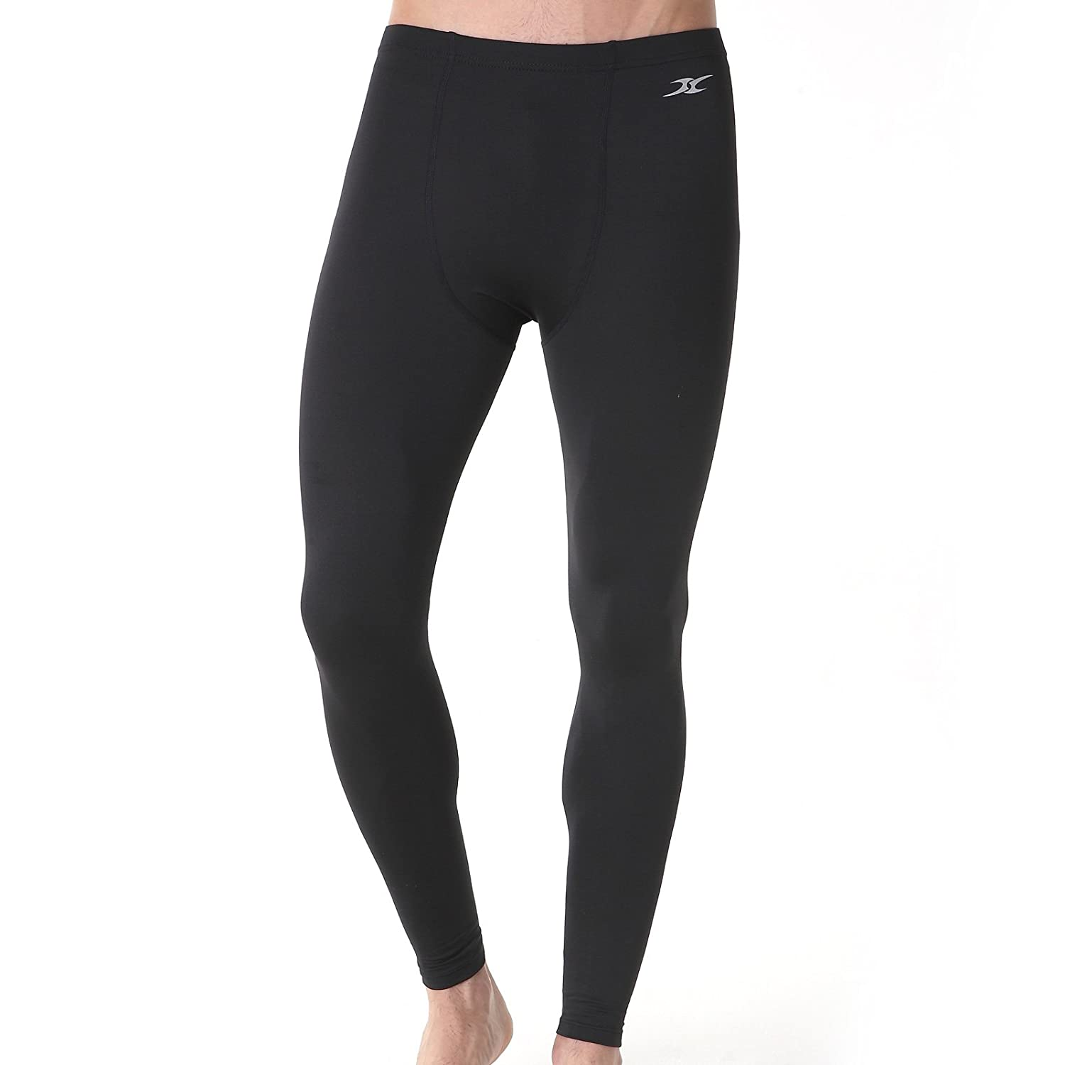 c1528a1f7fb Amazon.com  Mens Skin tight Compression Under Base Layer Sports Long Pants  Leggings PS  Clothing