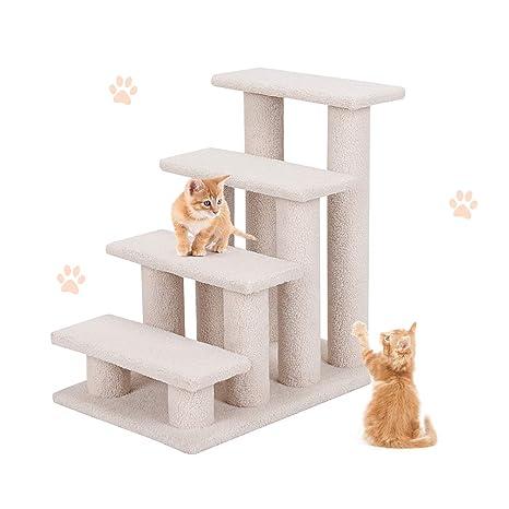 Amazon.com: PETSJOY - Rampa de escaleras para mascotas para ...