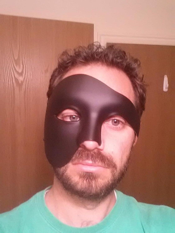 Kapmore Trajes de Mens Masquerade Máscara Halloween Máscara ...