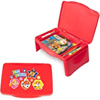 Paw Patrol Kids Lap Desk with Storage - Folding Lid and Collapsible Design - Portable for Travel or use in Bed at Home…