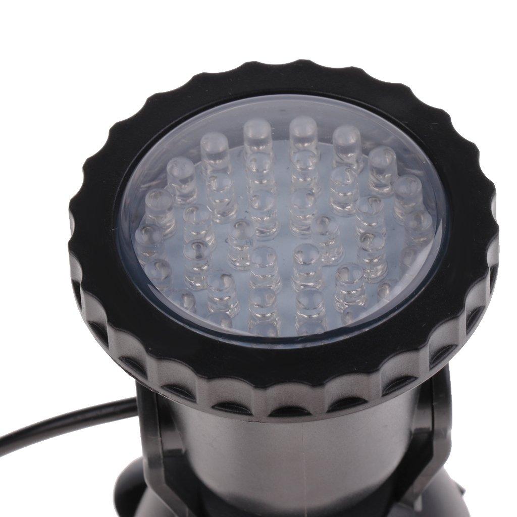Teich etc Garten Schwimmbad Sharplace LED Unterwasserleuchte Unterwasserlicht Teichbeleuchtung Wasserdicht Spotlicht 7-Farbwechsel Unterwasser Dekoleuchte f/ür Aquarium Ein Licht