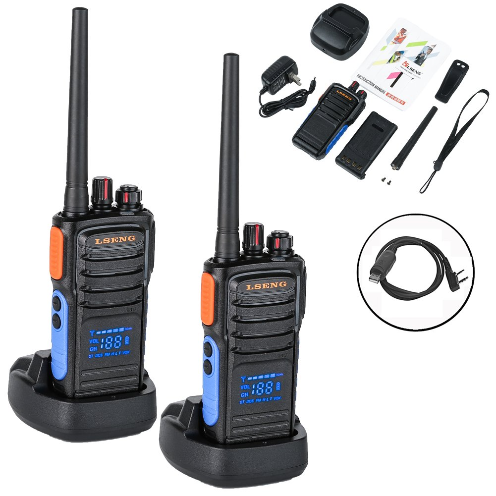 Amazon.com: Two Way Radio with Hidden Display LSENG T-328 UHF Analog Walkie  Talkie with 1 PC USB Programming Cable (Pack of 2): Car Electronics