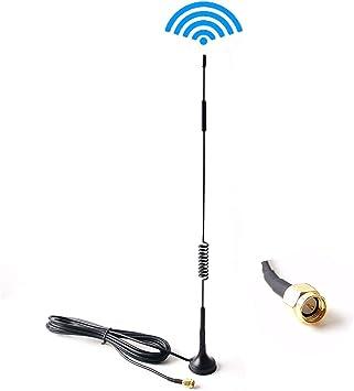 Antena de extensión para el sistema de respaldo inalámbrico del coche Monitor Amplificador de cámara Amplificador de señal de video digital/analógico ...
