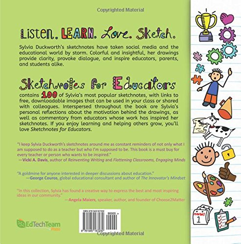 Sketchnotes for Educators: Sylvia Duckworth: 9781945167232: Amazon ...