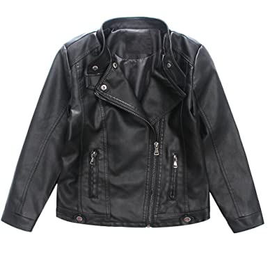 Ljyh Boys Faux Leather Jacket Michael Jackson Costume For Kids