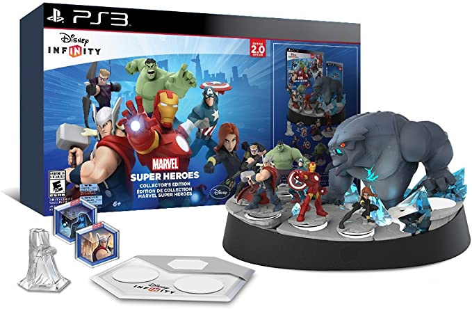 Disney Infinity 2.0 Marvel Super Heroes Starter Pack PlayStation 3 ...