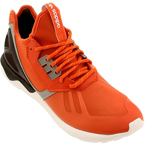 new product 619a9 aa45e B25524- ADIDAS TUBULAR RUNNER MENS SNEAKERS ADIDASCORANG BLACK ORACOL  NOIESSM Orange 10 D(M) US  Buy Online at Low Prices in India - Amazon.in