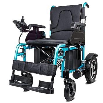 Wheel-hy Silla de Ruedas Plegable eléctrica Ligera [2019 ...