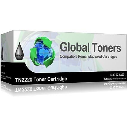 ACPSupplies - Cartucho de tóner compatible TN2220 para impresoras Brother HL, DCP y MFC, color negro