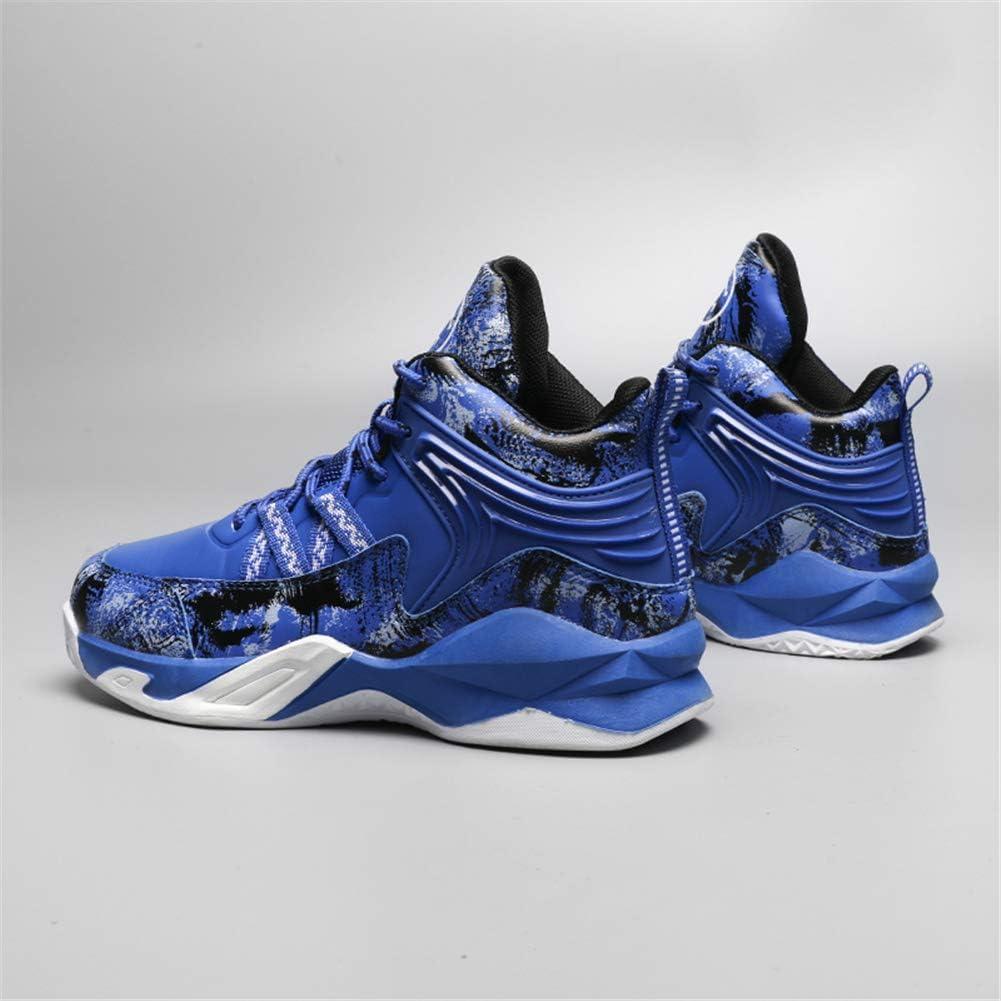 DAYATA - Zapatillas de baloncesto con estampado de camuflaje para niños y niños: Amazon.es: Zapatos y complementos