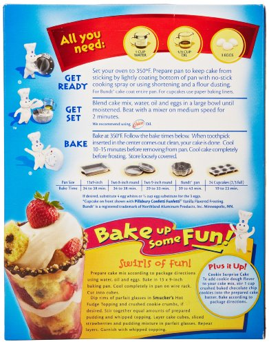 Pillsbury Golden Butter Cake Mix Directions