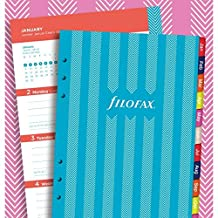 Filofax Stripes Illustrated 2018 Diary Refill Pack (A5)
