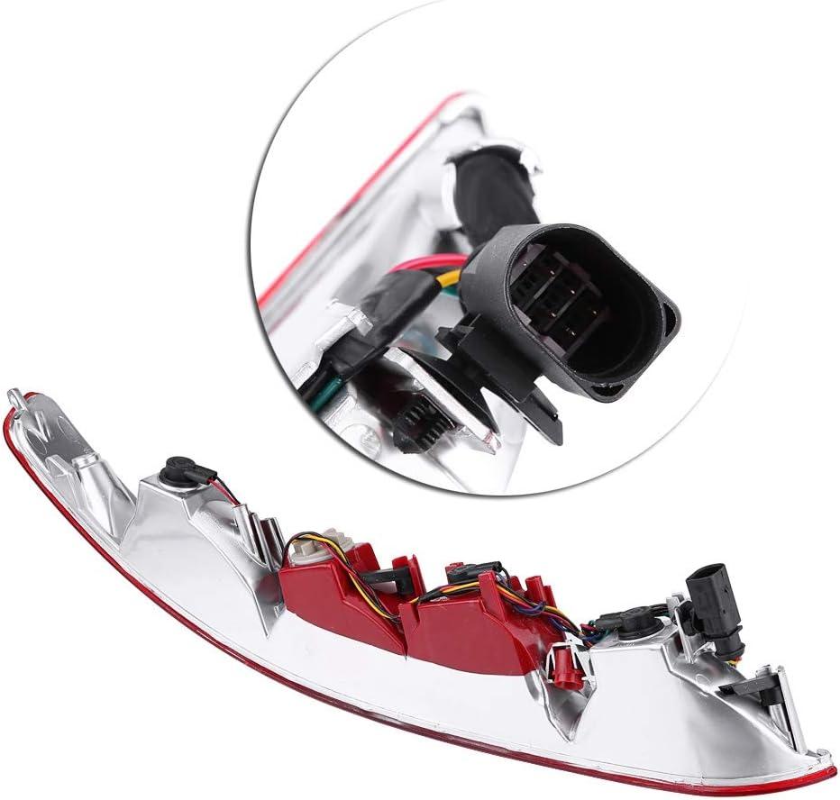 KIMISS Fanale posteriore destro posteriore paraurti posteriore destro inferiore Faro retronebbia rosso per Q5 2006-2016