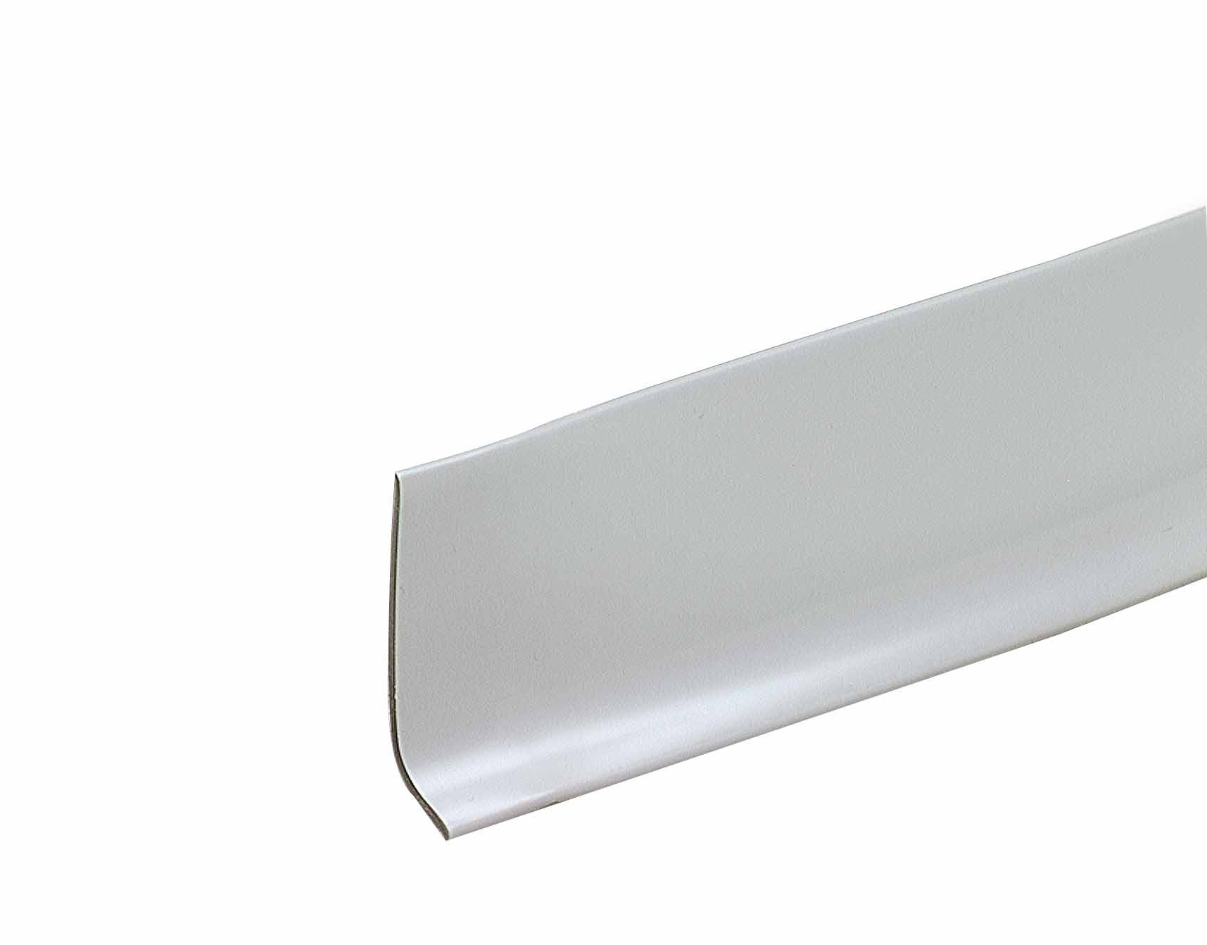 M-D Building Products 75671 2-1/2-Inch by 4-Feet Dry Back Vinyl Wall Base, Silver Gray
