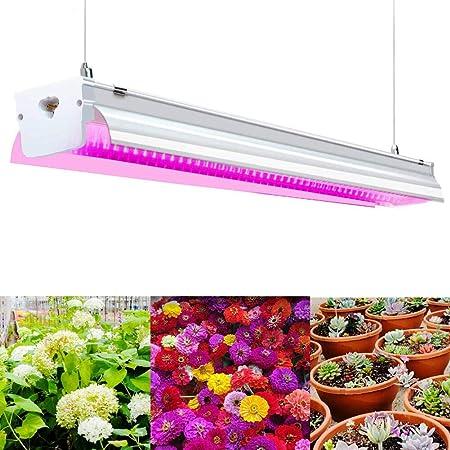 Amazon Com Grow Light T15 4ft 64w Led Grow Lights For Indoor