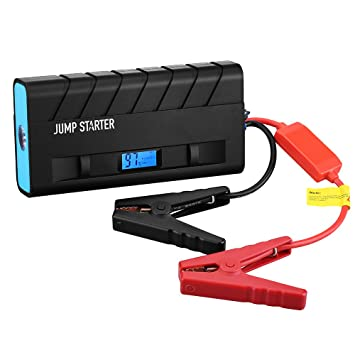 Jump Starter 13600mAh 500A, Topop Arrancador de Emergencia para Coche, Multi-Función y