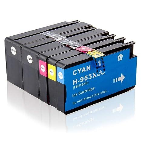 Labelwell 953XL 953 XL Cartuchos Tinta Compatible para HP 953XL ...