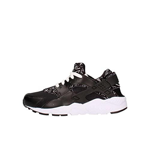 Zapatillas Nike - Huarache Run Print (GS) negro/blanco talla: 38,5: Amazon.es: Zapatos y complementos