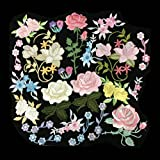 20pcs Randomly Colorfull Embroidery Boutique Applique Assorted flower (20)