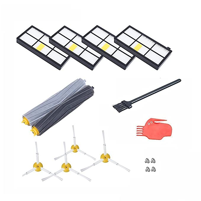 YGJ® Accessories for iRobot Roomba 880 860 870 871 980 990 Replenishment Parts Spare Brushes Kit: Amazon.es: Hogar