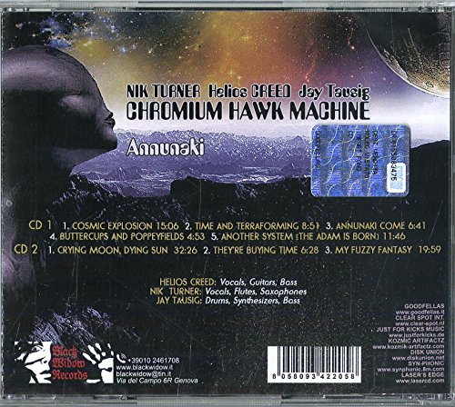 CHROMIUM HAWK MACHINE - Annunaki - Amazon com Music