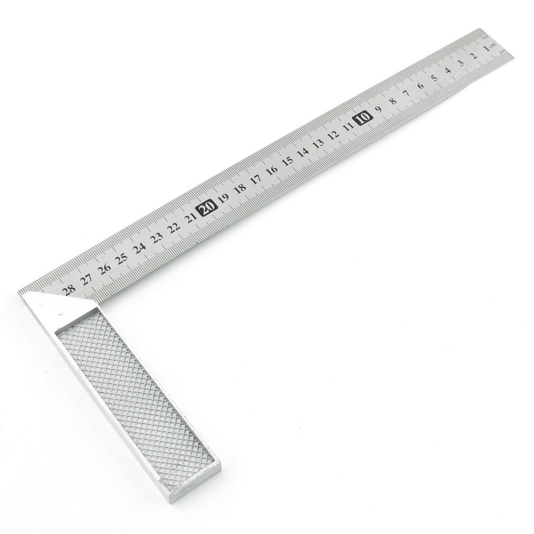 Uxcell (a13110700ux0020) Stainless Steel Right Measuring Angle Square Ruler, 30cm, Silver Tone Dragonmarts Co. Ltd. / Uxcell