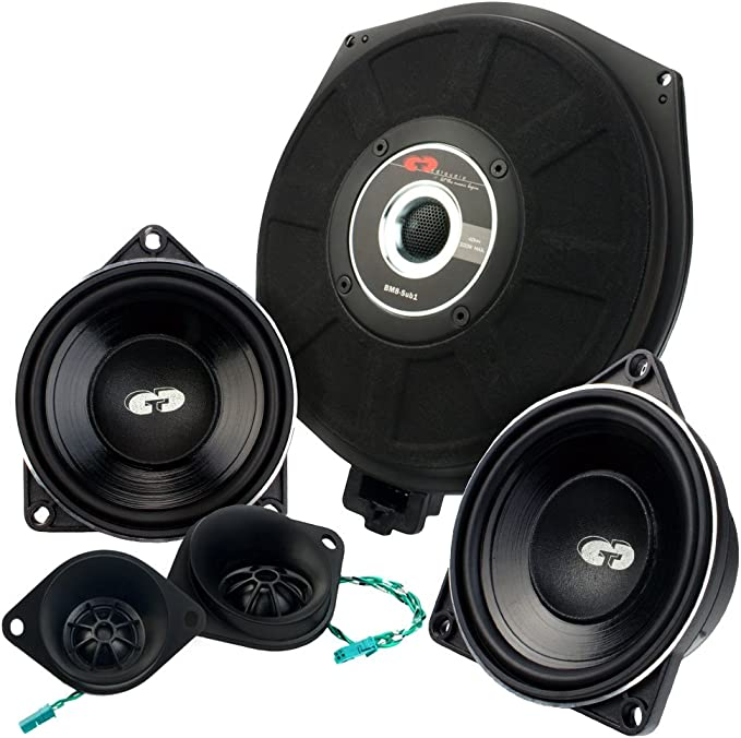 Cdt Audio Set41 Component Speaker Subwoofer For Bmw 1 Series 5 Series 6 Series X1 X3 X5 Mp3 Hifi