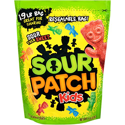 Sour Patch Kids Candy (Original, 1.9-Pound Bulk -