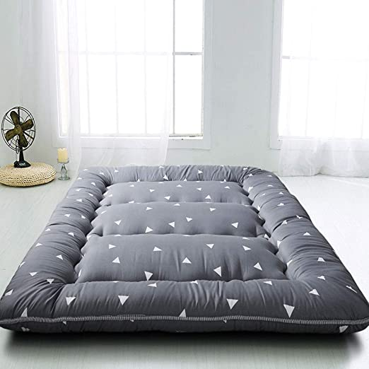 Amazon Com Grey Triangle Japanese Floor Futon Mattress Tatami