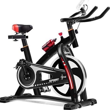 JAEJLQY Bicicletas estáticas y de Spinning-Bicicleta de Spinning ...