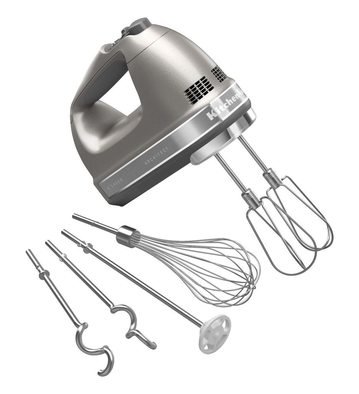 KitchenAid Architect Hand Mixer - 9-speed - Architect - Silver