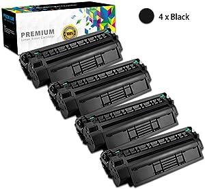 GZH-for HP 15A 7115A C7115A 1000 1200 1200N 1200SE 1220 1220SE 3300MFP 3320nMFP 3320MFP 3330MFP Compatible Toner Cartridge Replacement-4-Pack