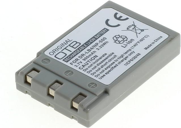 Otb Akku Für Minolta Np 600 Li Ion Schwarz Computer Zubehör