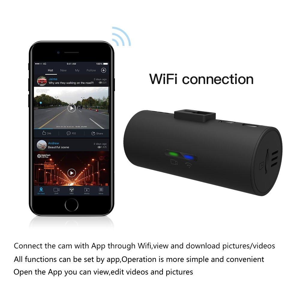amazon com halocam c1 dash cams fhd 1080p car camera built in