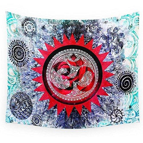 HXQ Beach Throw Tapestry Cotton Tablecloth Beach Towel , w01 , 150150cm - Toalla Para Gimnasio