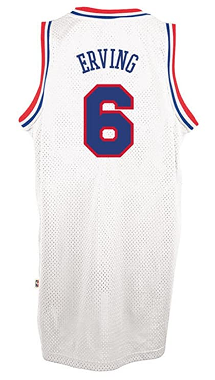 e07dceeb3 Julius Erving Philadelphia 76ers White NBA Soul Swingman Jersey (Small)