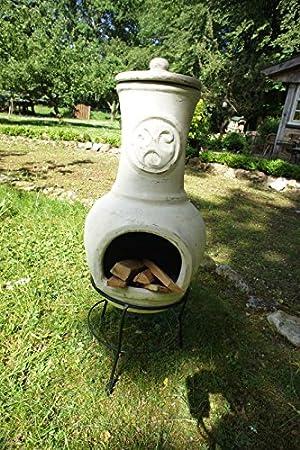 Antikas - chimenea de barro - chimenea decorativa para la ...