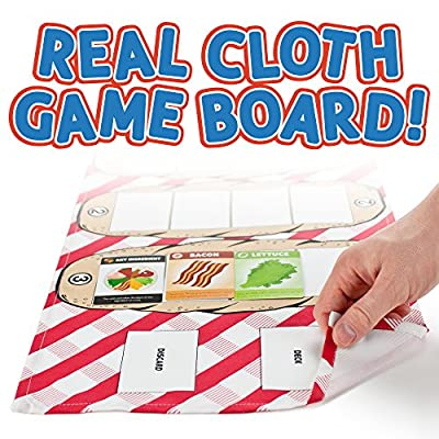 Sub Shop Board Game | Classic Sandwich Building Card Game for Families | Family Fun Tabletop Strategy & Memory Card Game for Kids & Adults of All Ages | Home & Restaurant Table Activity: Toys & Games