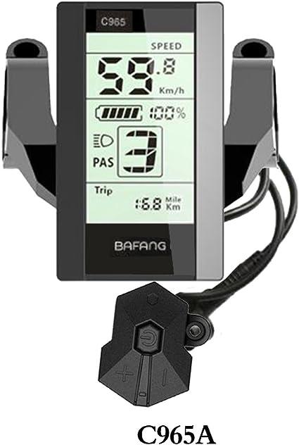 Bafang central kit bbs01-bbs02-BBSHD 36V//48V C965 LCD display
