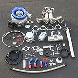 acura turbo kit - For Honda B-Series High Performance 13pcs T04E Turbo Upgrade Installation Kit