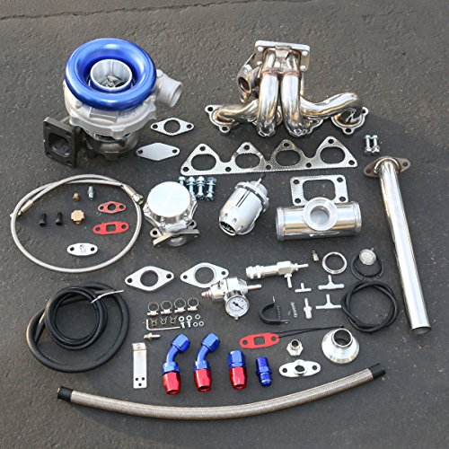 For Honda B-Series High Performance 13pcs T04E Turbo Upgrade Installation Kit
