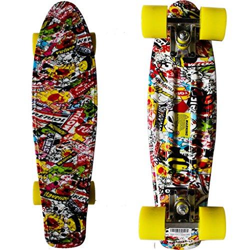 "RIMABLE Complete 22"" Skateboard JOKER2"