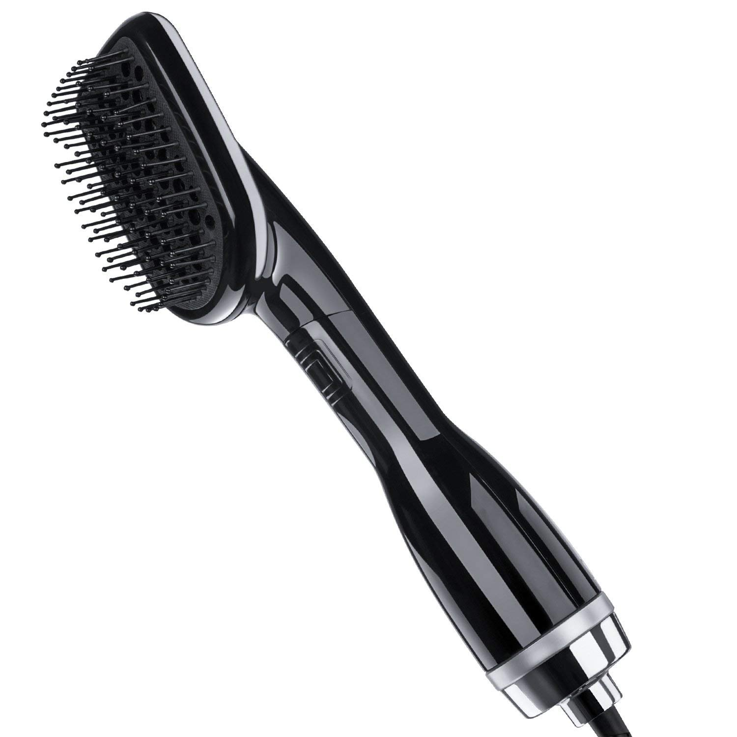 One-Step Hair Dryer & Styler, YaFex Ionic Hot Air Paddle Brush - Blow Dryer Brush For All Hair Types - Powerful, Lightweight & Ergonomic Design