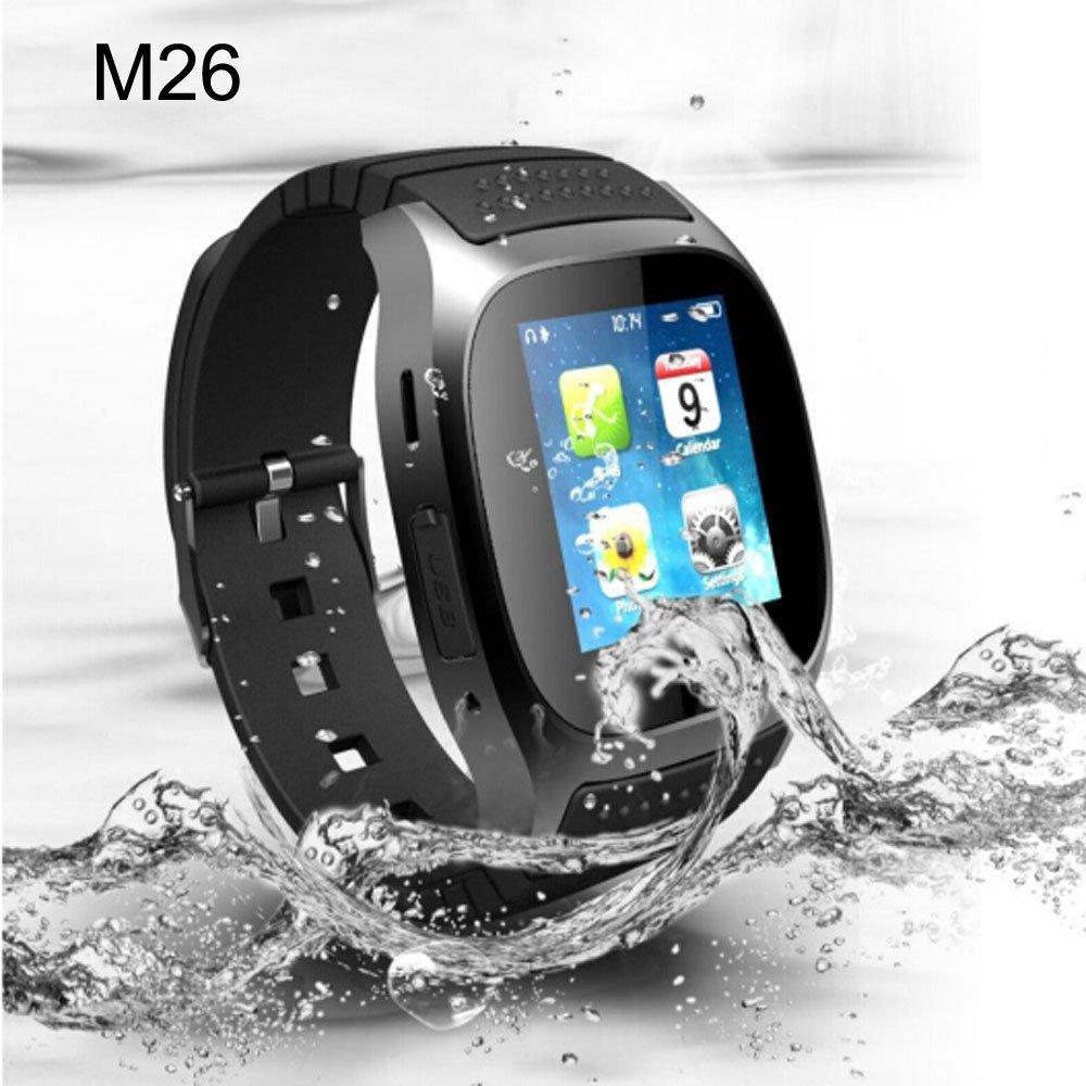EGLEMTEK Smartwatch M26 Bluetooth Smart LED para Android y ...